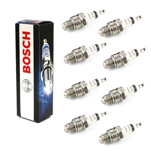 8x Bosch Super 4 Spark Plugs Genuine Engine Ignition Service Part Set/Kit