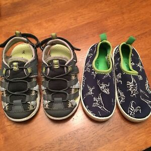 Carter's Sandals and Water shoes size 8
