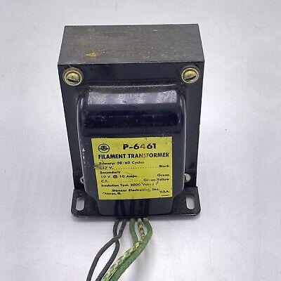 Stancor P-6461 Control Transformer Pri 117vac Sec 10vct 10a