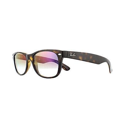 Ray-ban Sonnenbrille Neu Wayfarer 2132 710/S5 Schildpatt Violett Flash Gradient