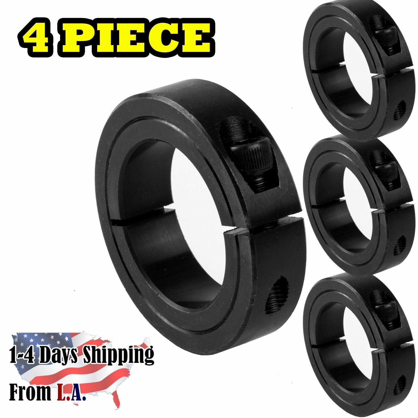 2-bore-single-split-shaft-collar-black-oxide-set-screw-style4-pcs