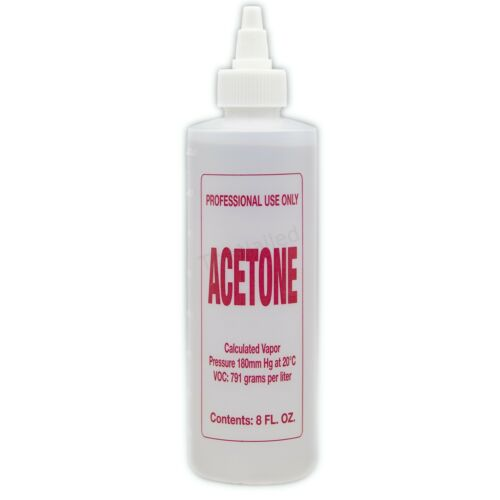 Nail Polish Remover Pure Acetone Remover Remove Nail Glue Gel Polish  8 Oz