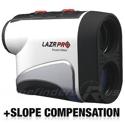 GOLF LASER RANGE FINDER W/ SLOPE ANGLE SCAN FLAGLOCK PINSENSOR LAZRPRO PS-1006