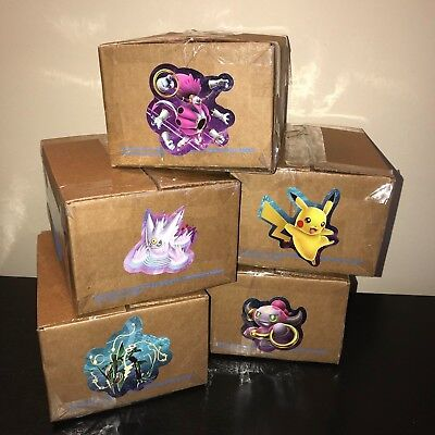 POKEMON GIFT CRATE LOOT BOX LOT CARDS PACK TOYS PINS PLUSH COINS POWER! ~1 POUND - Pokemon 1