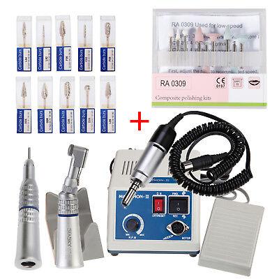 Marathon Dental Lab Electric Polishing Micromotor 35k Rpm Motor Handpiece Burs C