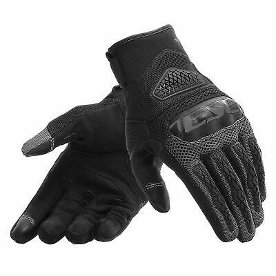 Dainese Bora Handschuhe schwarz/antrazit M Sommer Touren Kurz Motorrad Kurze Schwarze Nylon-handschuhe