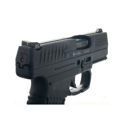 XS Sights DXT Big Dot Tritium Front Fits Walther CCP, PPS, PPS M2 9 & 40 ()