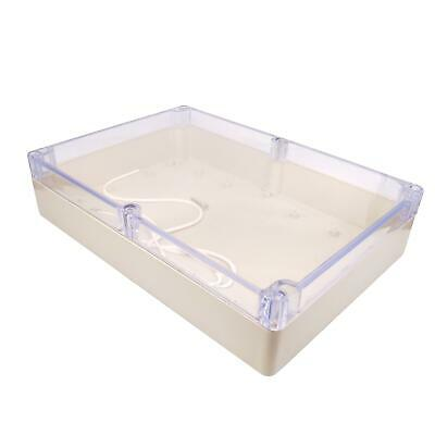 Us Stock 1pc Plastic Project Box Electronic Enclosure Case Diy 60 X 182 X 263mm