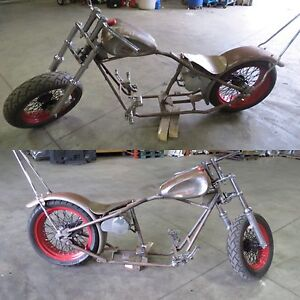Custom chopper package