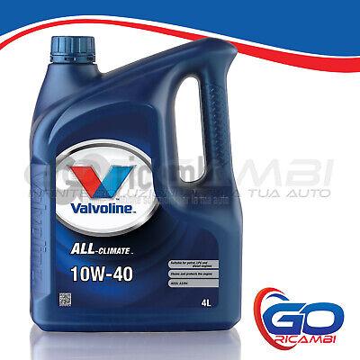 OLIO MOTORE VALVOLINE ALL CLIMATE 10W40 PART SYNTHETIC 4L - Cod.VA834152