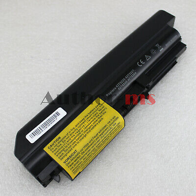 "Used, NEW 6Cell Battery for Lenovo ThinkPad R400 T400 R61 R61i T61p 14.1"" widescreen for sale  Shipping to Nigeria"