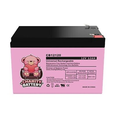 Neptune Power 12V 12Ah F2 SEALED LEAD ACID DEEP-CYCLE RECHARGEABLE BATTERY Rechargeable Lead Acid Battery