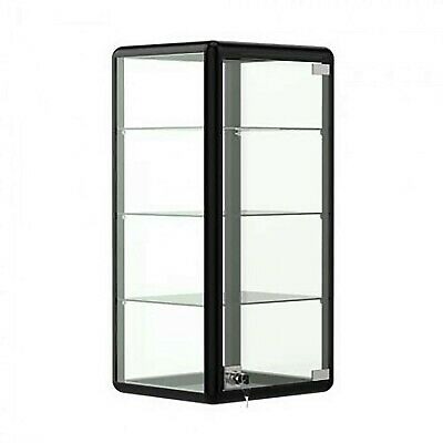 12 Aluminum Frame Counter Top Glass 3-shelf Display Case - F-1302-b