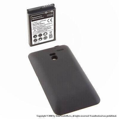 3500mAh Extended Battery for LG Esteem 4G Bryce MS910 Black Cover 3500 Mah Extend Battery