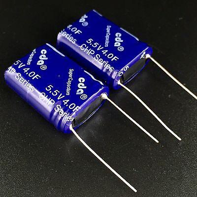 CDA CHP-5R5L405R-P 5.5V 4.0F combination 4F 5.5V super capacitor Quantity 2PCS