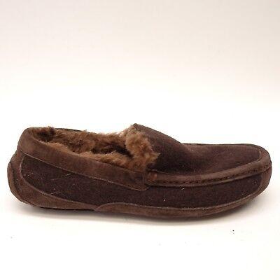 Damen-ascot (Ugg Damen Ascot Stout Braunes Wildleder Lammfell Pantoffeln 3233 Größe 7)