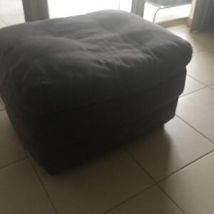 suede ottoman Muswellbrook Muswellbrook Area Preview