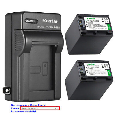 115 Wall (Kastar Battery Wall Charger for Sony NP-FV100 Sony HDR-CX110 HDR-CX115)