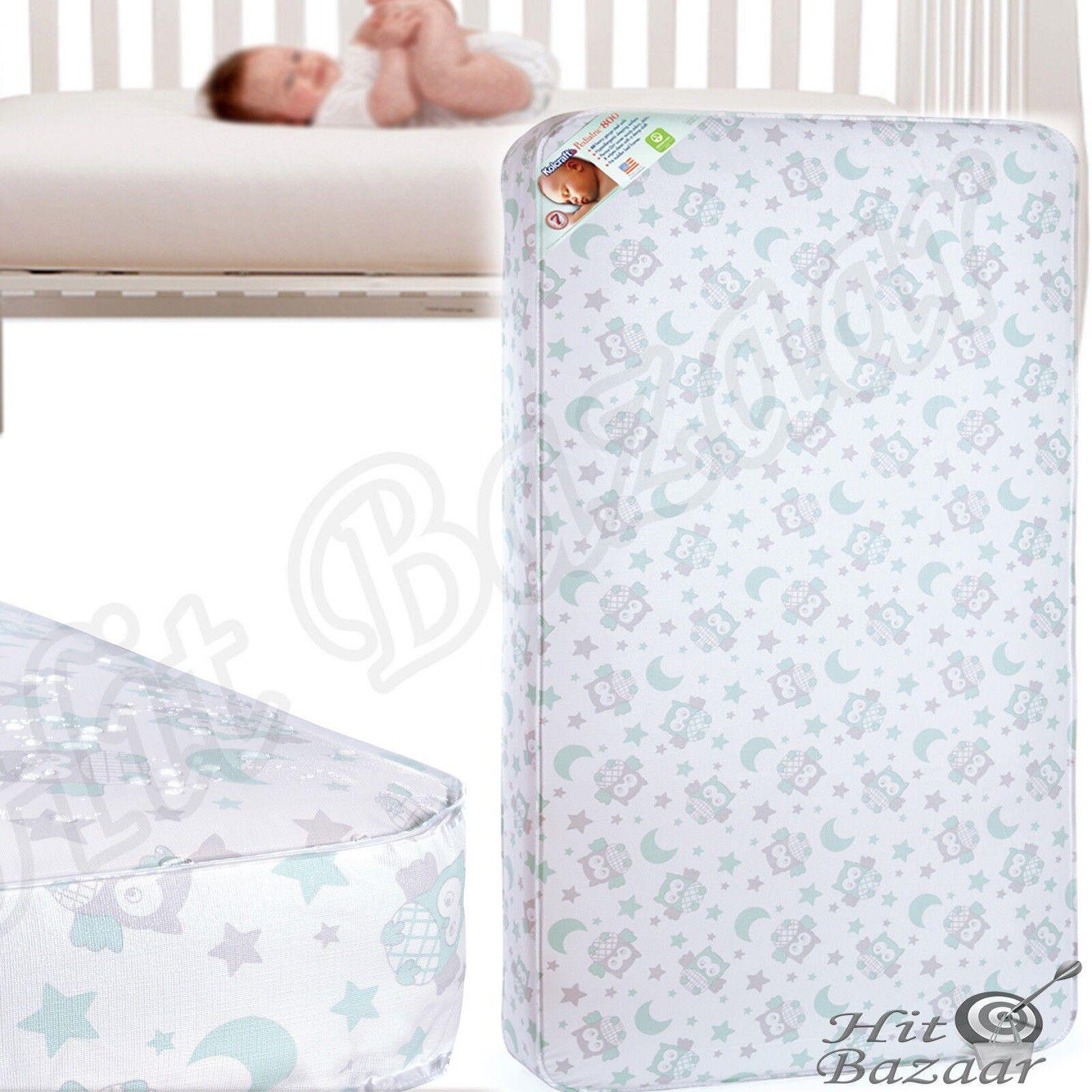 BABY CRIB MATTRESS Toddler Innerspring Pediatric Comfort Sle