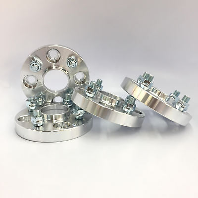 4X HubCentric Wheel Spacers ¦ 4x114.3 ¦ 12x1.25 ¦ 66.1 CB 25MM 1 INCH   S13
