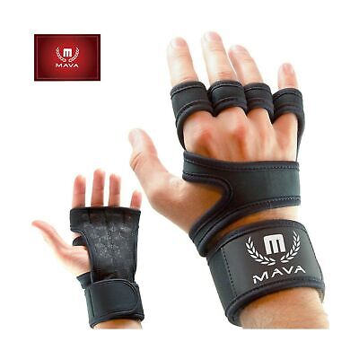 Cross Training Gloves with Wrist Support for WODs, Gym Worko