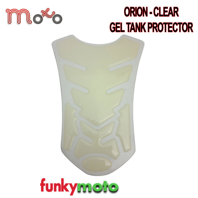 MOTORCYCLE MOTORBIKE TANK PROTECTOR PAD CLEAR ORION GEL STICK ON