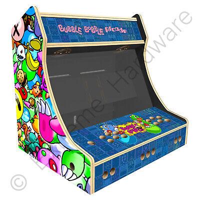 """BitCade 2 Player 24"""" Bartop Arcade Machine Cabinet with Bubble Bobble Artwork"""