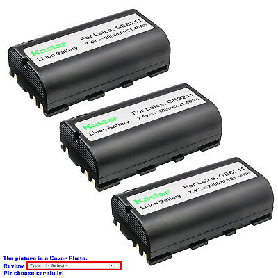 Leica Replacement Battery - Kastar Replacement Battery for Leica GEB111 GEB171 GEB211 GEB212 GEB221 Battery