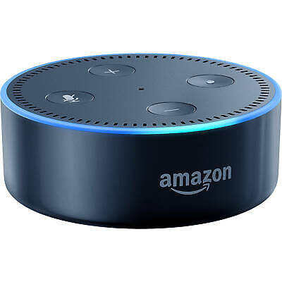 Amazon Echo Dot (2nd Gen) Smart Speaker with Alexa (Black) Add Alexa...