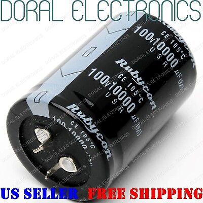 10000uf 100v 35x50 Mm Capacitor Electrolytic 10000 Uf Mfd 10000mfd 100 Volt 2pin