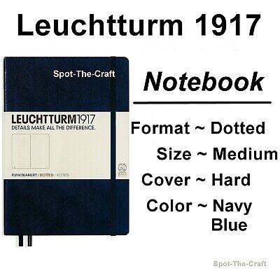 Leuchtturm1917 Dotted Journal Notebook Medium A5 Navy Blue 342925
