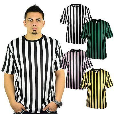 Mato & Hash Mens Crew Neck Ref Shirt Bar Referee Waitstaff T-Shirt Ref Costume (Costume Tee)