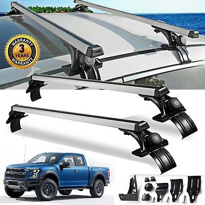 "For Ford F150 F350 F450 Pair 48""inch Car Top Luggage Cross Bar Roof Rack Carrier"