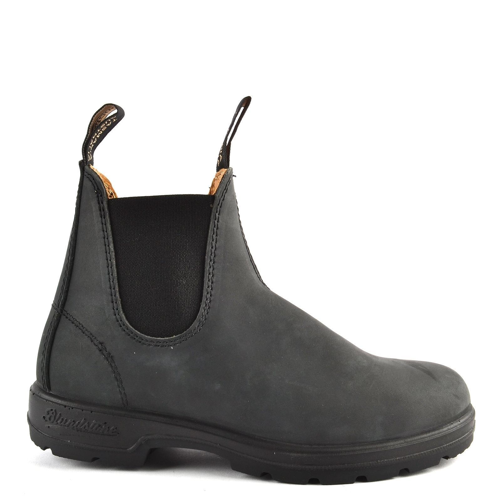 40d32b893b4 NEW Blundstone Style 587 Rustic Black Leather Boots for Men
