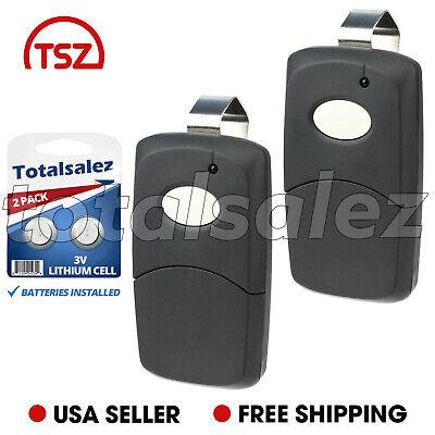 - 2 For MultiCode 3089 Garage Door Opener Gate Car Remote Transmitter 1090 Black