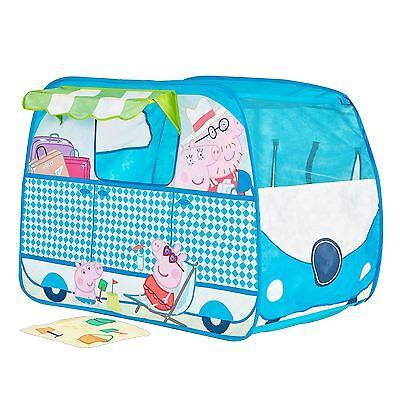 Peppa Pig Caravana Plegable Juego de Imitación Tienda Diversión Niños Interior