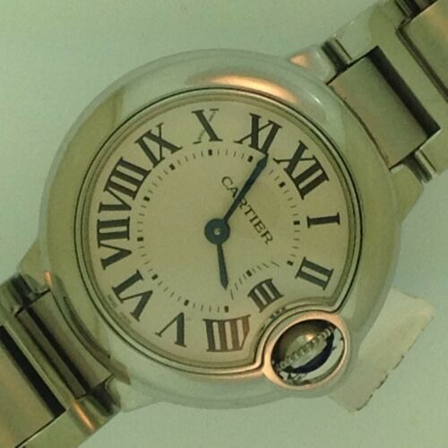 Cartier Ballon Bleu W69010z4 Ladies Stainless Steel Watch