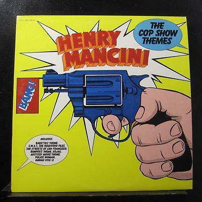 Henry Mancini - The Cop Show Themes LP VG+ APL1-1896 RCA 1976 Vinyl Record