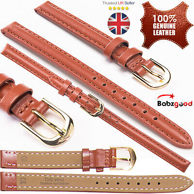 Kapten Son Mens Ladies Genuine Soft Leather Replacement For Watch Straps Band UK
