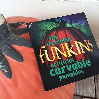 Halloween Pumpkin Crafts (Funkins Halloween Fall Craft Supply - Carvable Pumpkin)