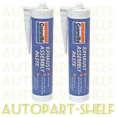 2x Granville Exhaust Assembly Paste Cartridge - 500g x 2