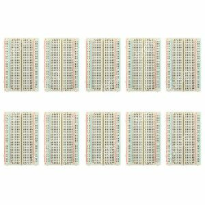 10Pcs-Universal-Solderless-Breadboard-400-Tie-Point-PCB-Test-Circuit-For-Arduino