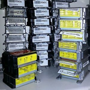 SUBARU FORESTER DENSO SRS AIRBAG COMPUTER CONTROL ECU RCM SDM ACM MODULE RESET