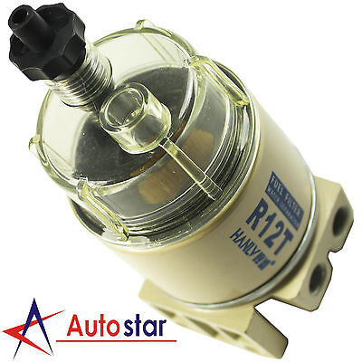 Brand New For R12T Boat Marine Spin-on Fuel Filter / Water Separator 120AT - Marine Fuel Filter