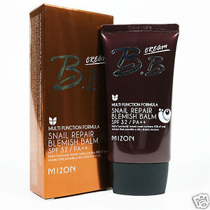 MIZON BB Cream Snail Repair Blemish Balm SPF 32/ PA ++ 50ml Natural Coverage