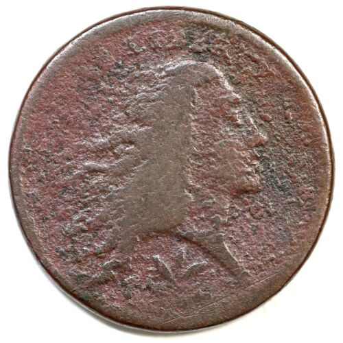 1793 Wreath Large Cent Coin 1c
