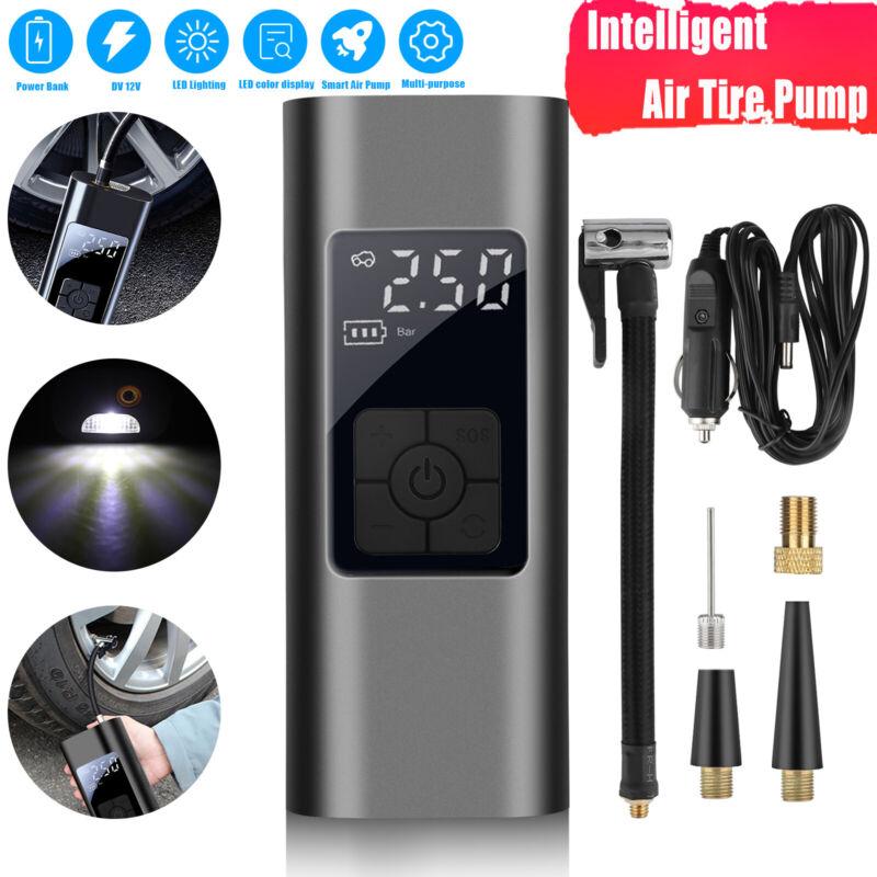 Car Digital Air Tire Pump Auto Electric Inflator Compressor Portable 12V 140PSI