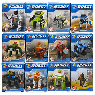 48x Bausteine Set Roboter Restposten Sonderposten Posten Flohmarkt Spielzeug