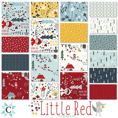 Little Red Square Bundle From Clothworks - (42) 5