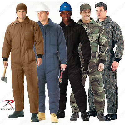 Rothco Heavyweight Insulated Coveralls - One-Piece Winter Work Jumpsuits